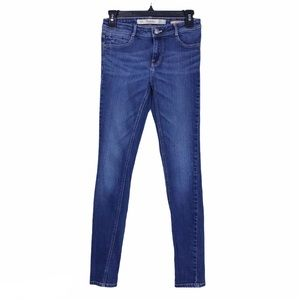 Zara Trafaluc Medium Wash Skinny Stretch Jeans 2